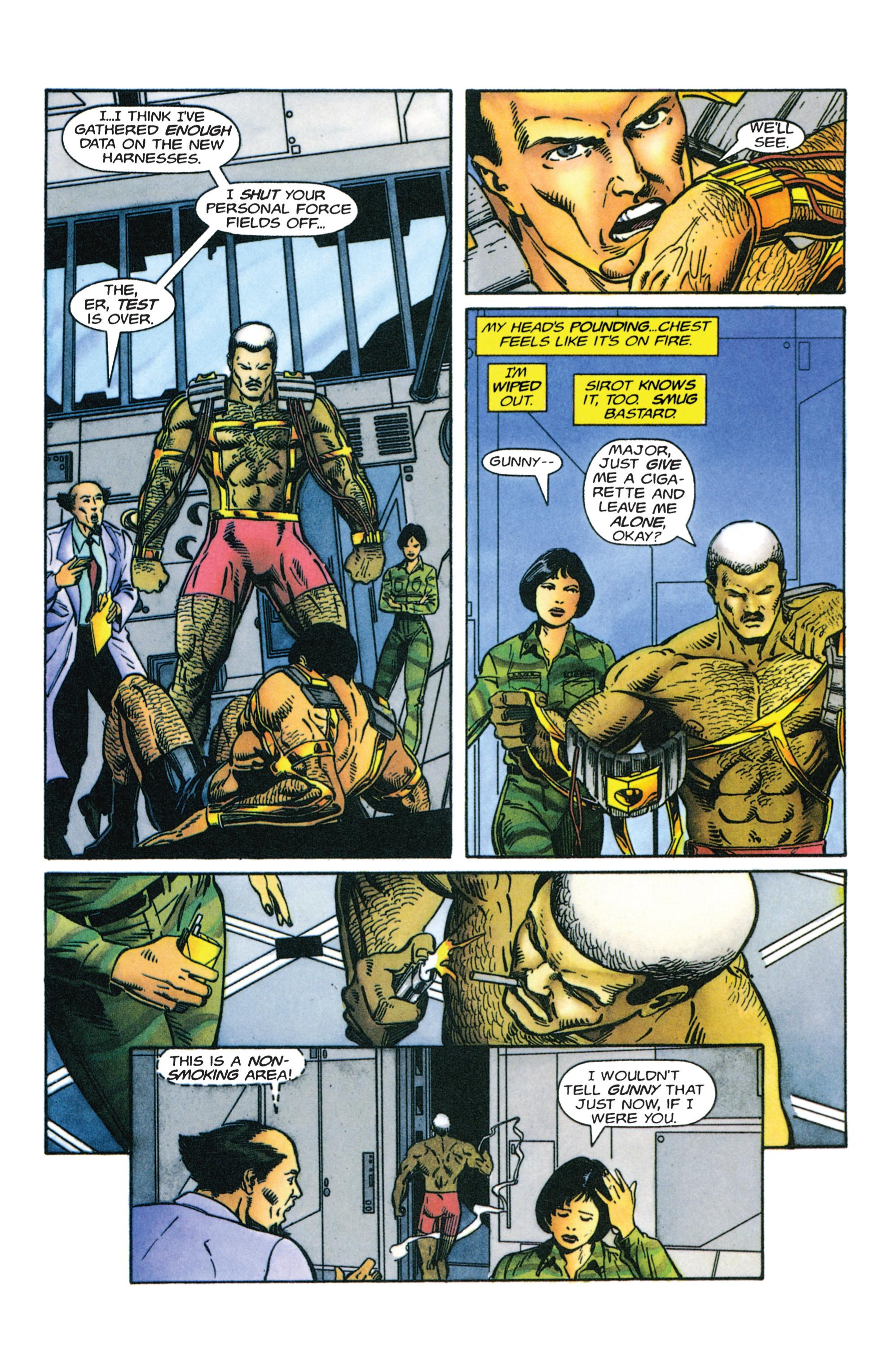 Read online Armorines comic -  Issue #4 - 6