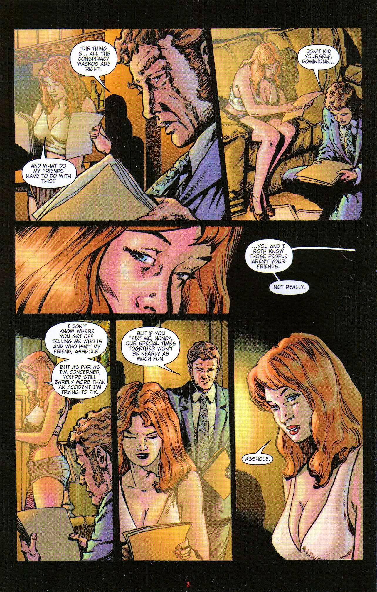 Read online Dominatrix comic -  Issue #5 - 4