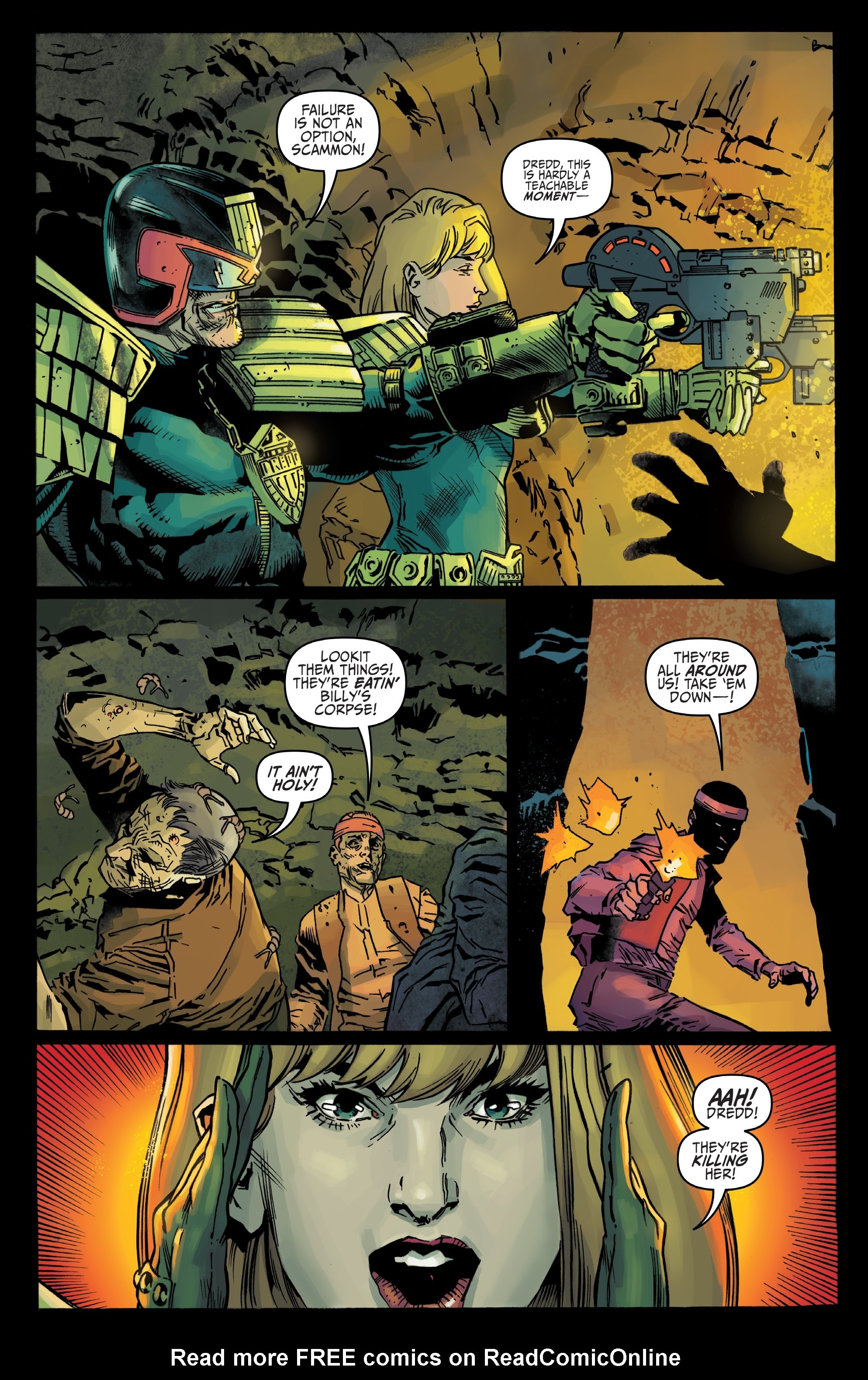 Judge Dredd: Toxic #4 #4 - English 13