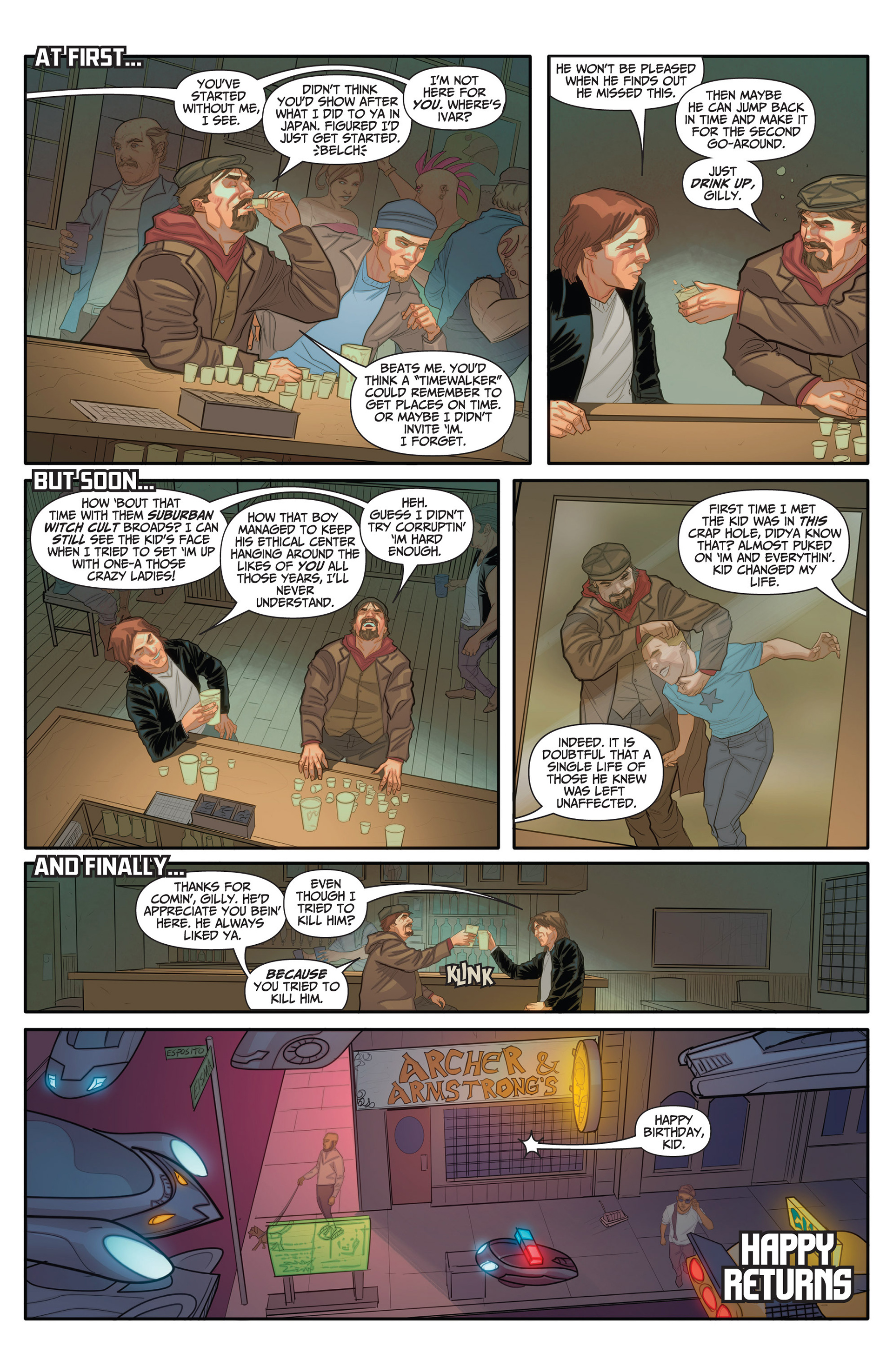 Read online Archer and Armstrong comic -  Issue #25 - 35