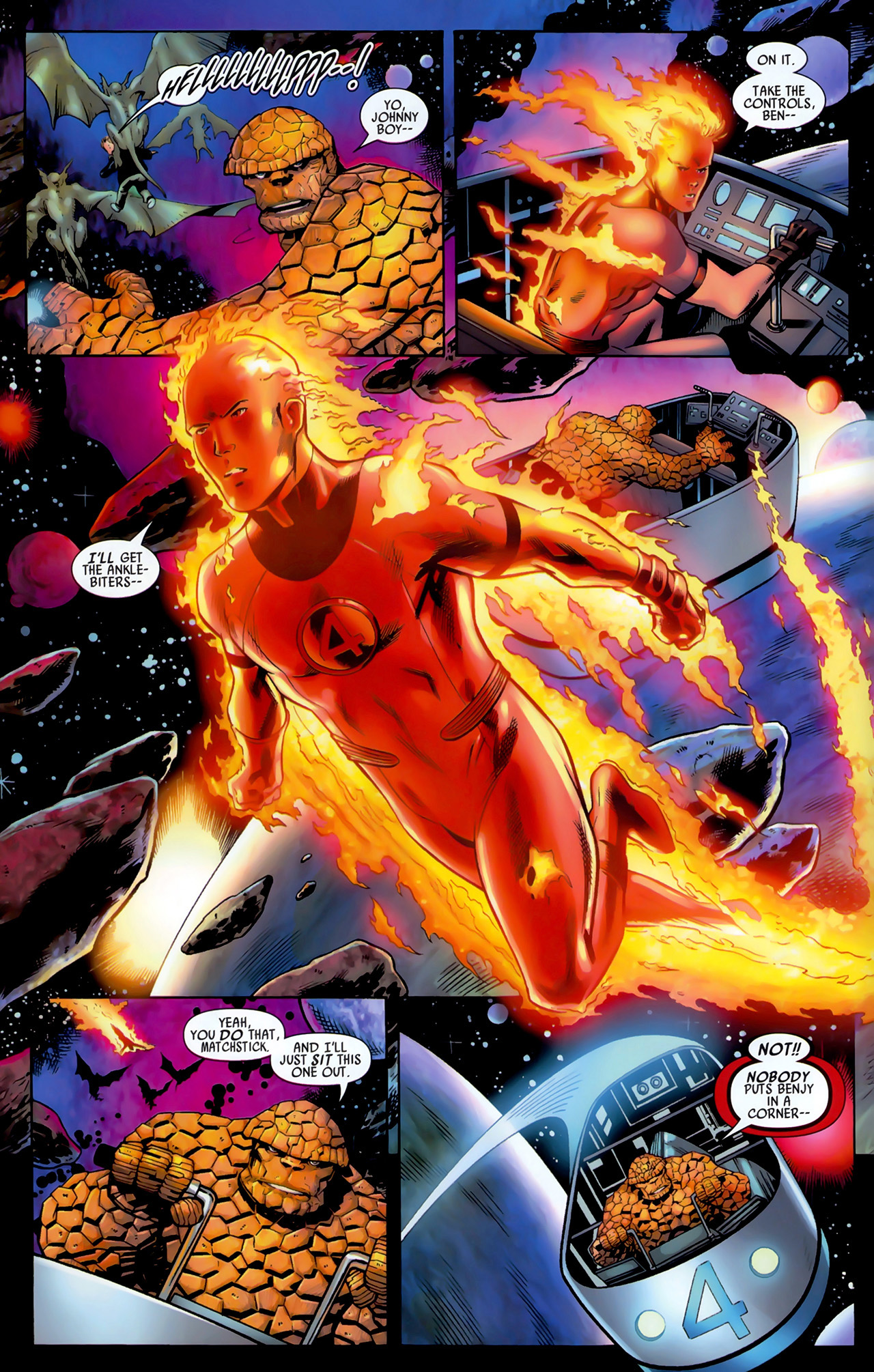 Read online Secret Invasion: Fantastic Four comic -  Issue #3 - 6