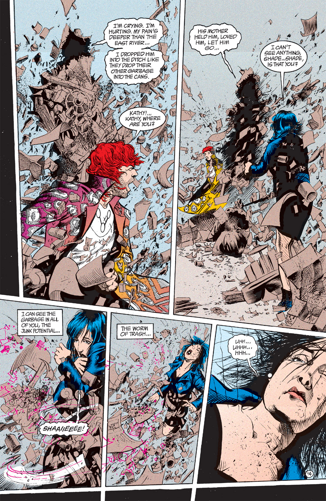 Read online Shade, the Changing Man comic -  Issue #7 - 15