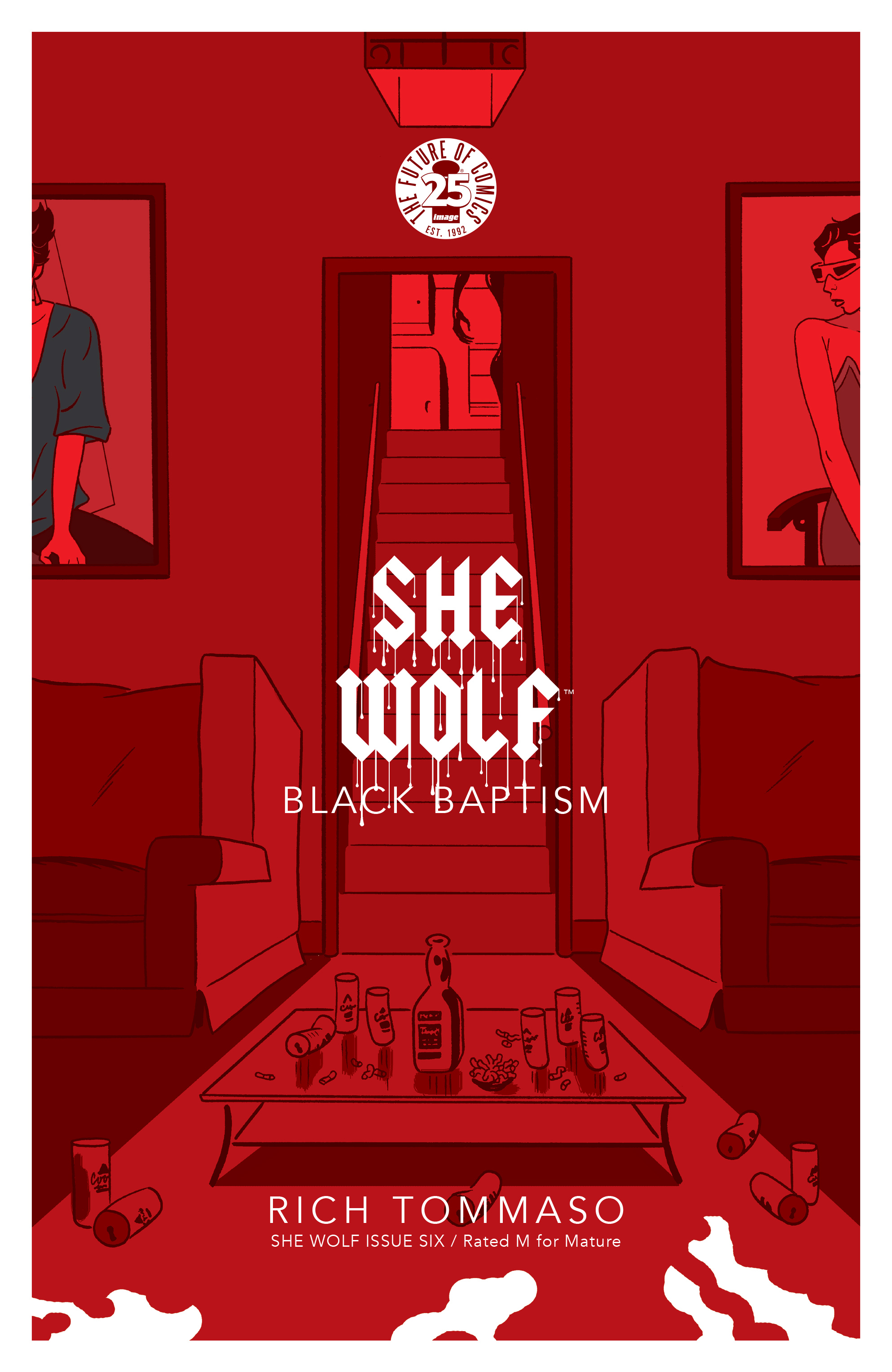 Read online She Wolf comic -  Issue #6 - 1
