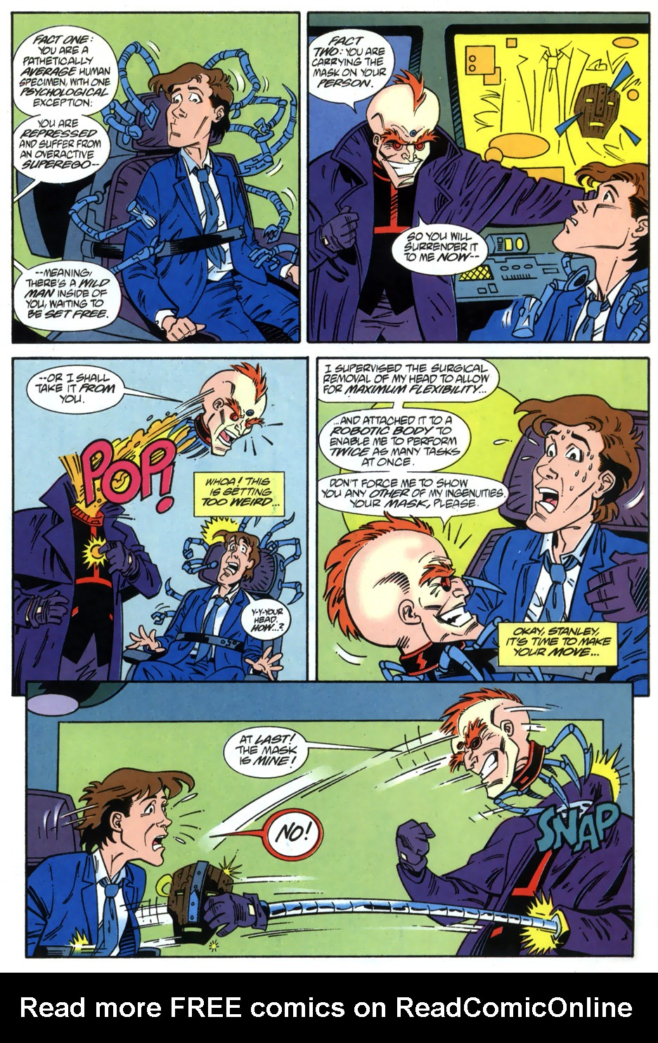 Read online Adventures Of The Mask comic -  Issue #2 - 15