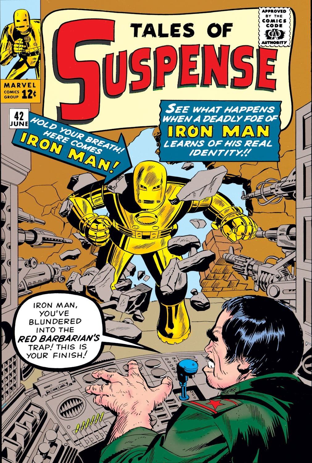 Tales of Suspense (1959) issue 42 - Page 1