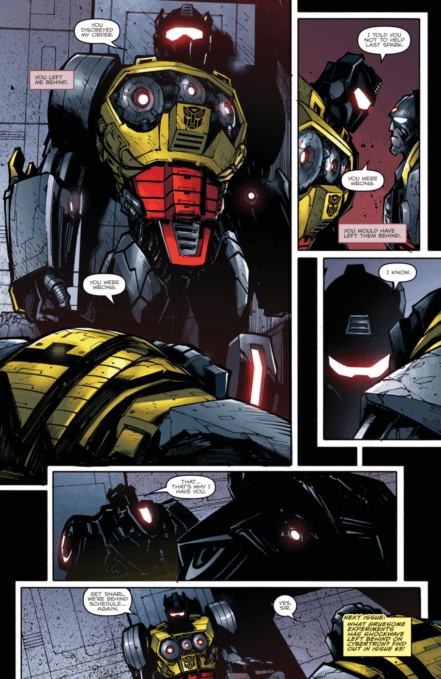Read online Transformers Prime: Beast Hunters comic -  Issue #2 - 24