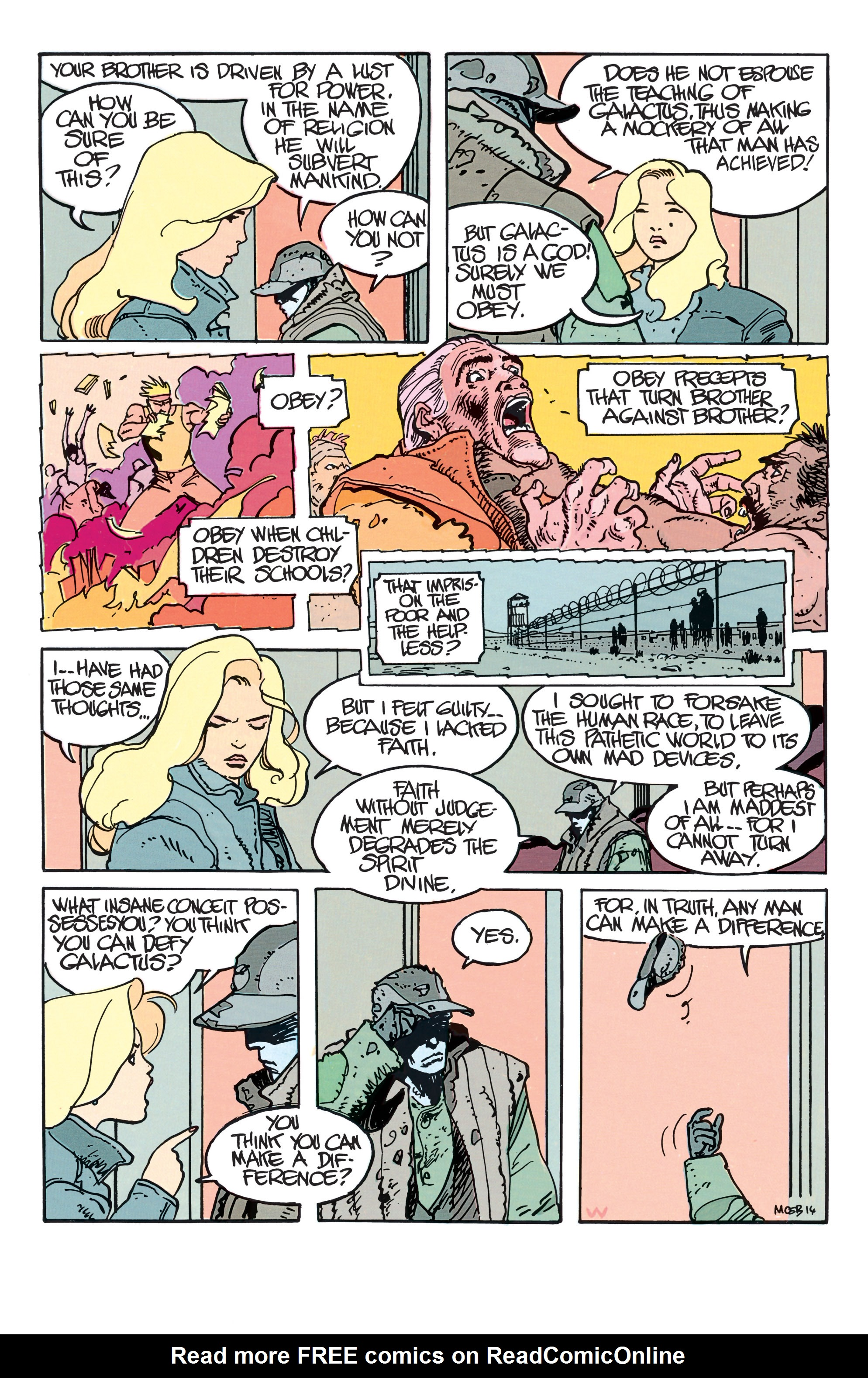Read online Silver Surfer: Parable comic -  Issue # TPB - 19