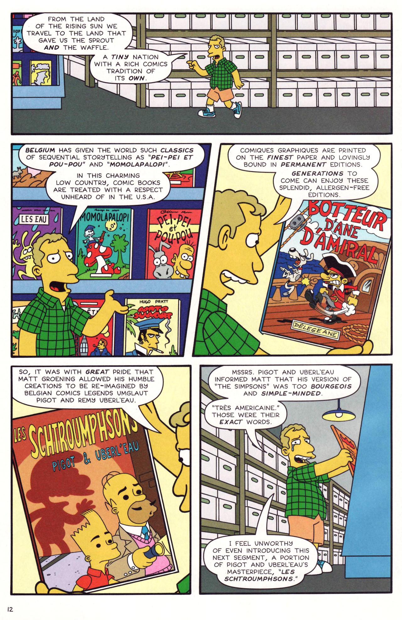 Read online Simpsons Comics comic -  Issue #131 - 11