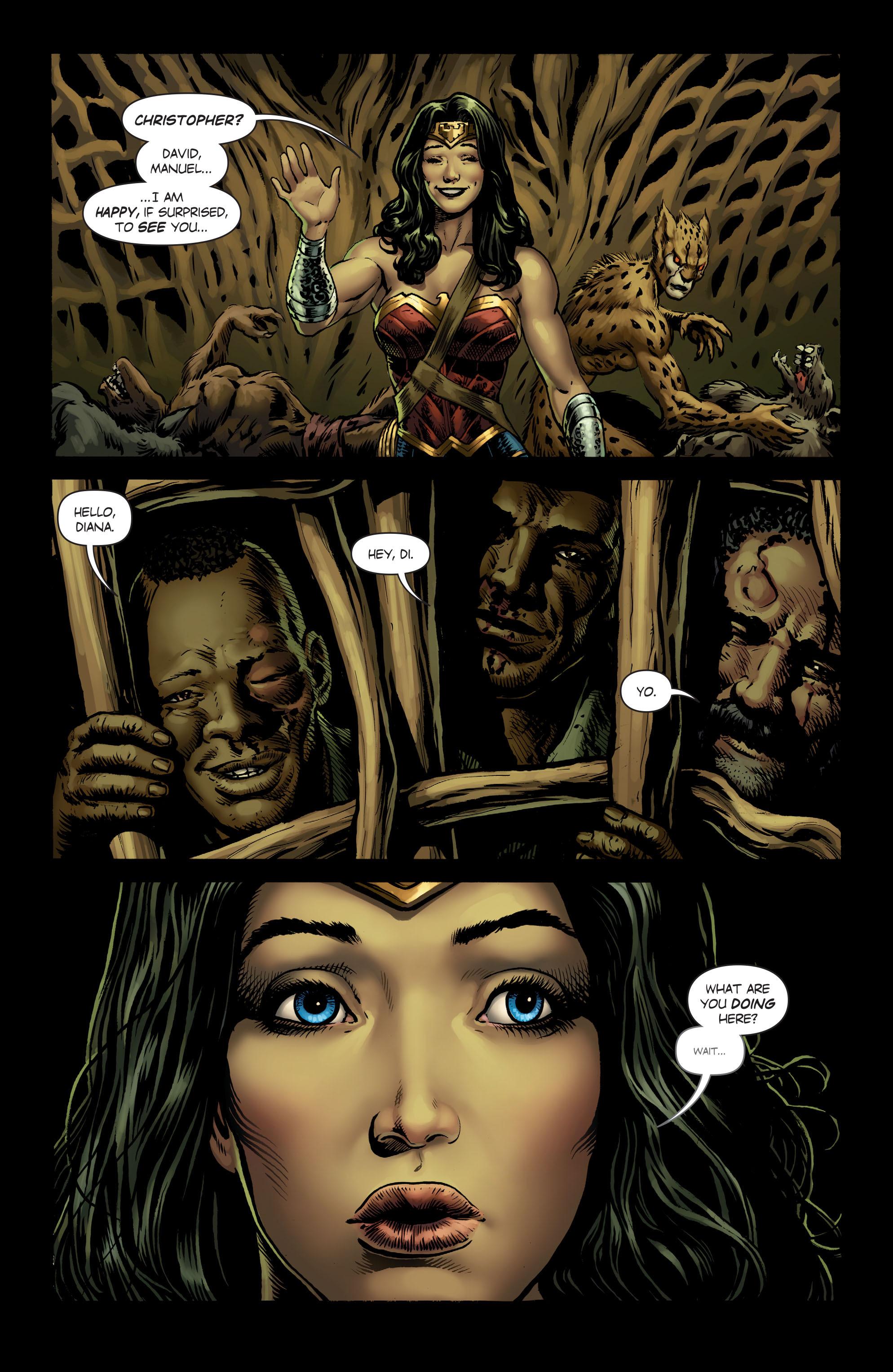 Read online Wonder Woman (2016) comic -  Issue #5 - 21
