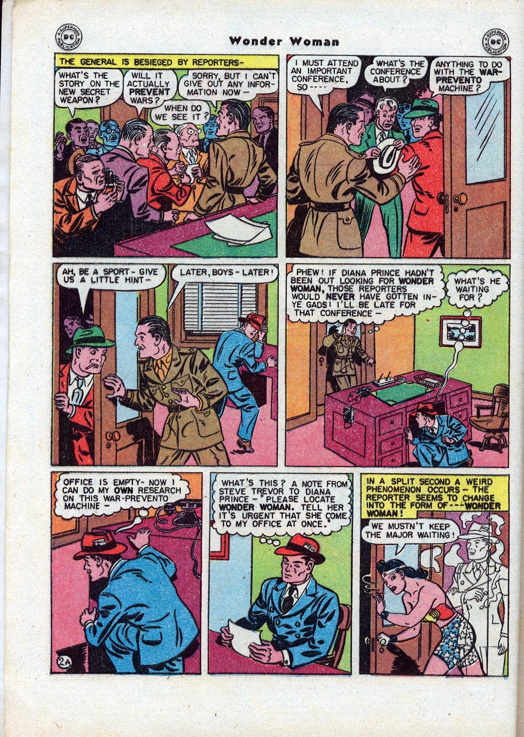 Read online Wonder Woman (1942) comic -  Issue #18 - 4