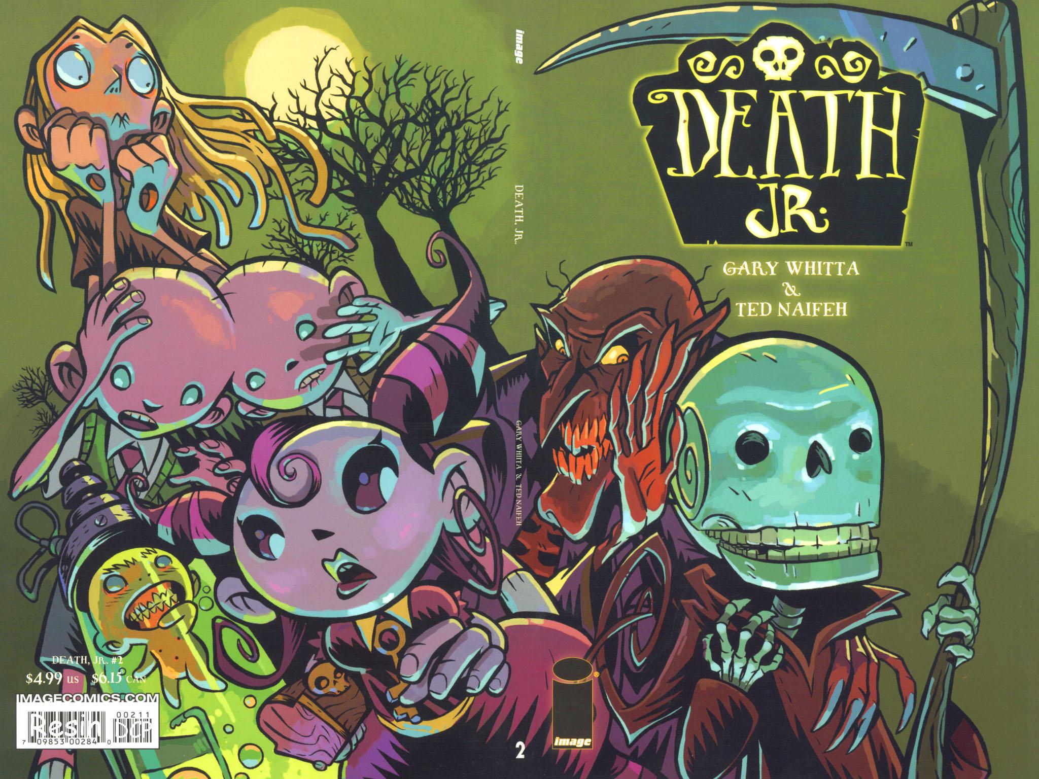 Death Jr. (2005) 2 Page 1