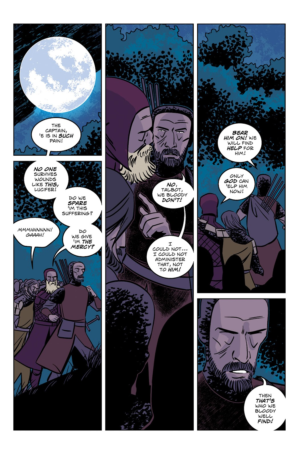 Read online Dark Ages comic -  Issue #1 - 16