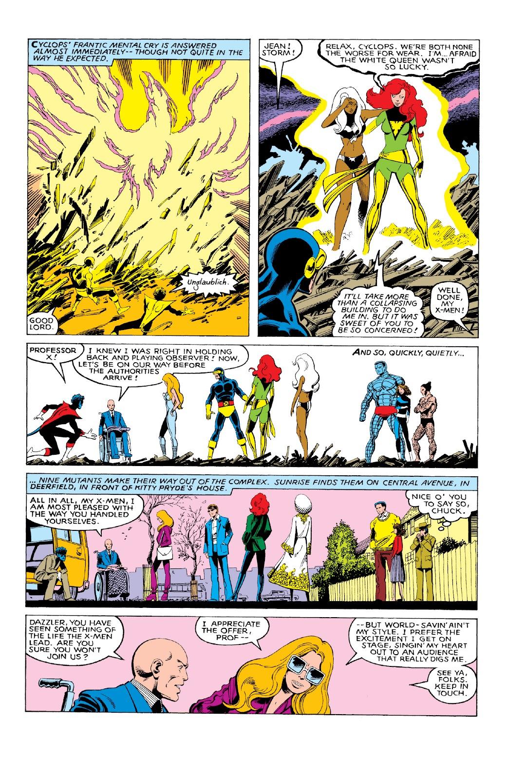 Read online X-Men Milestones: Dark Phoenix Saga comic -  Issue # TPB (Part 1) - 56
