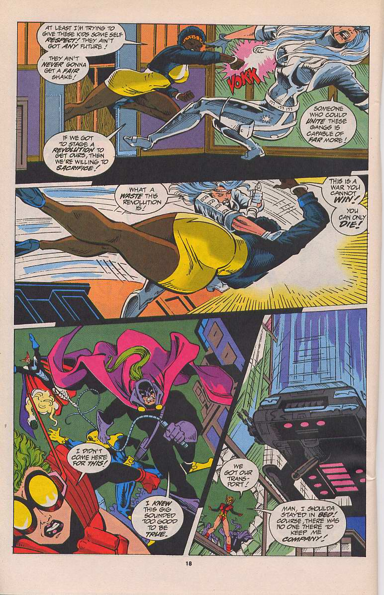 Read online Silver Sable and the Wild Pack comic -  Issue #22 - 15