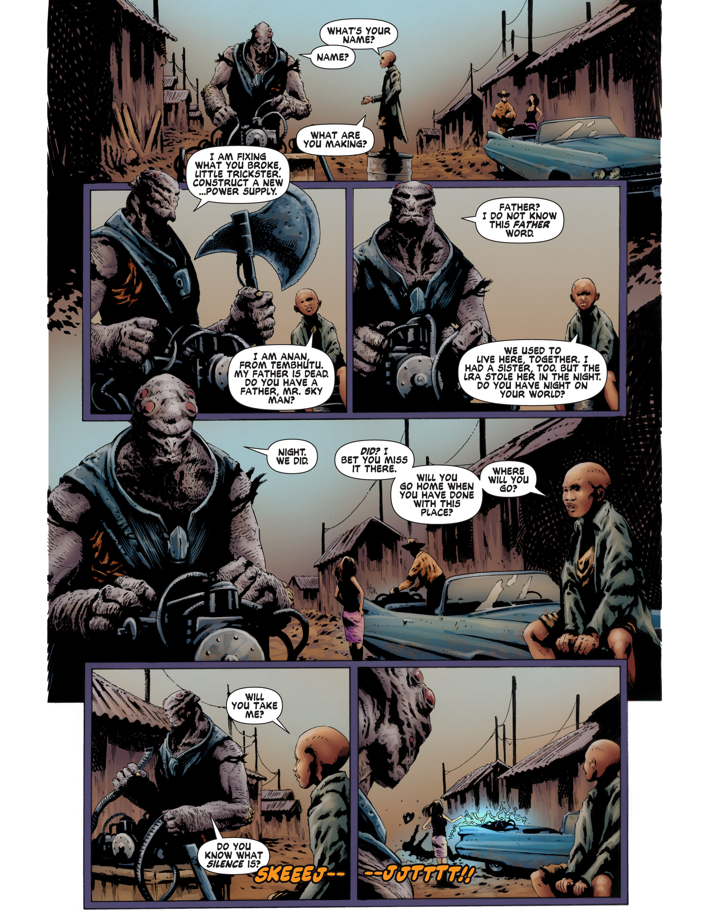 Read online Bad Planet comic -  Issue # TPB - 92