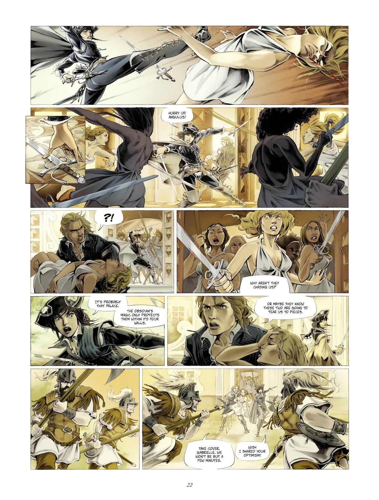 Read online Arthus Trivium comic -  Issue #4 - 24