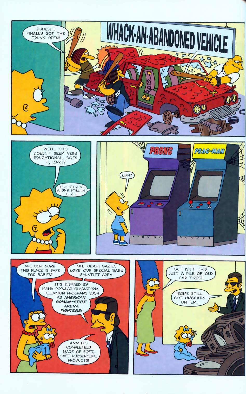 Read online Simpsons Comics comic -  Issue #50 - 67