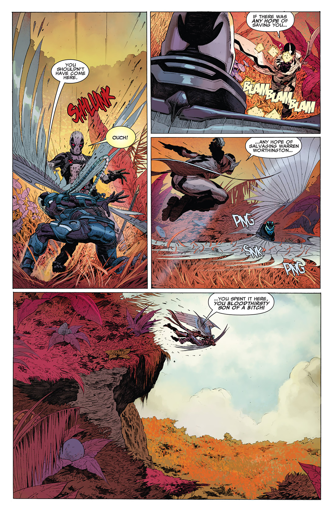 Read online Uncanny X-Force (2010) comic -  Issue #15 - 13