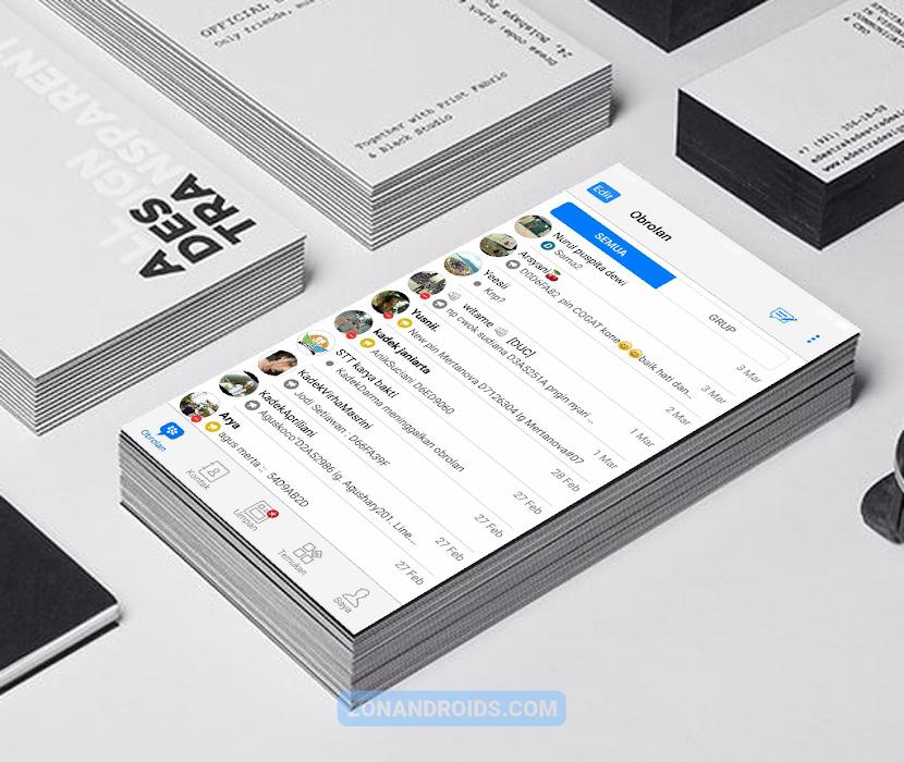 BBM B-iOS APK v3.3.1 24