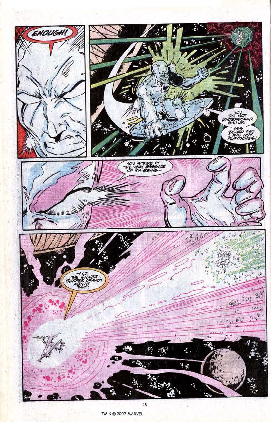 Read online Silver Surfer (1987) comic -  Issue # _Annual 2 - 20