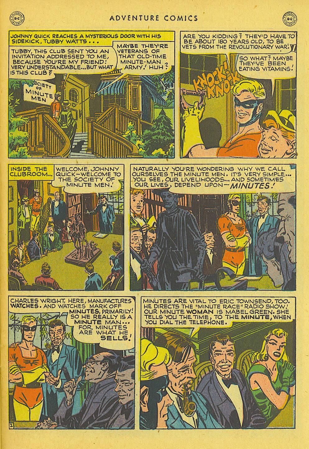 Read online Adventure Comics (1938) comic -  Issue #131 - 34