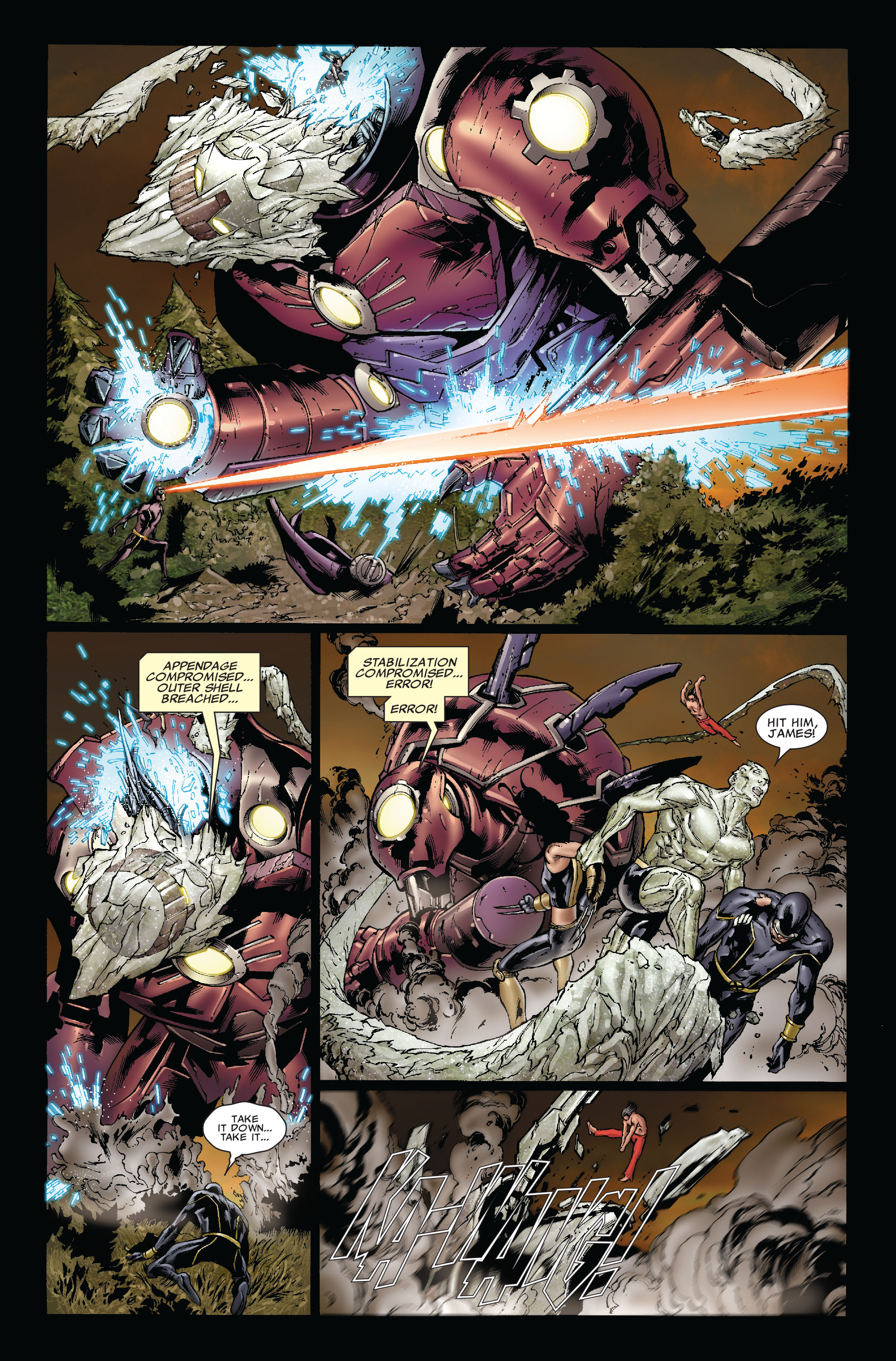 Read online Uncanny X-Men (1963) comic -  Issue #493 - 17