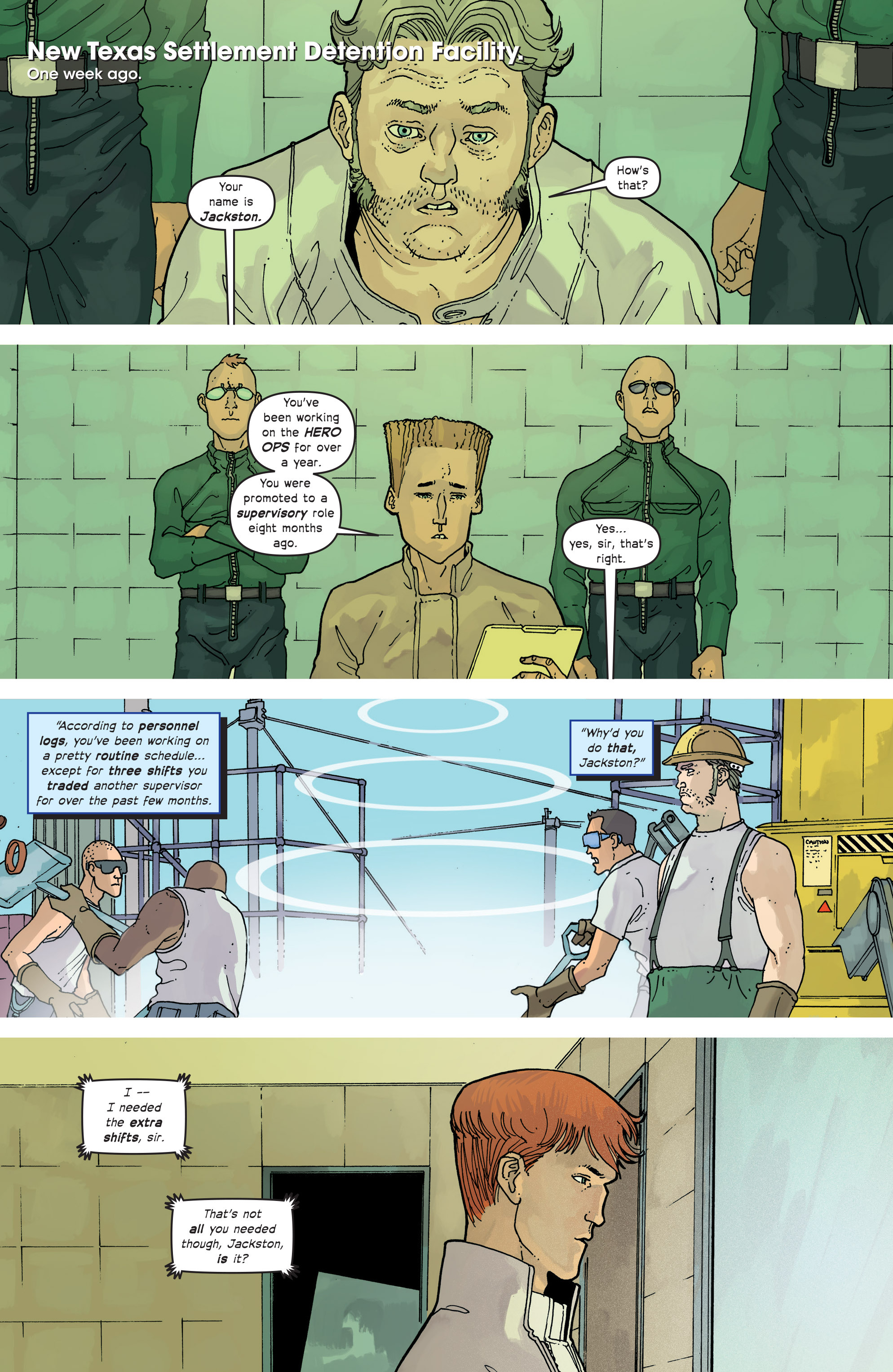 Read online Great Pacific comic -  Issue #14 - 10