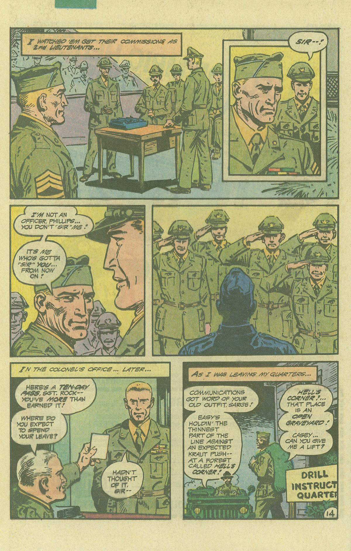 Read online Sgt. Rock comic -  Issue #392 - 14