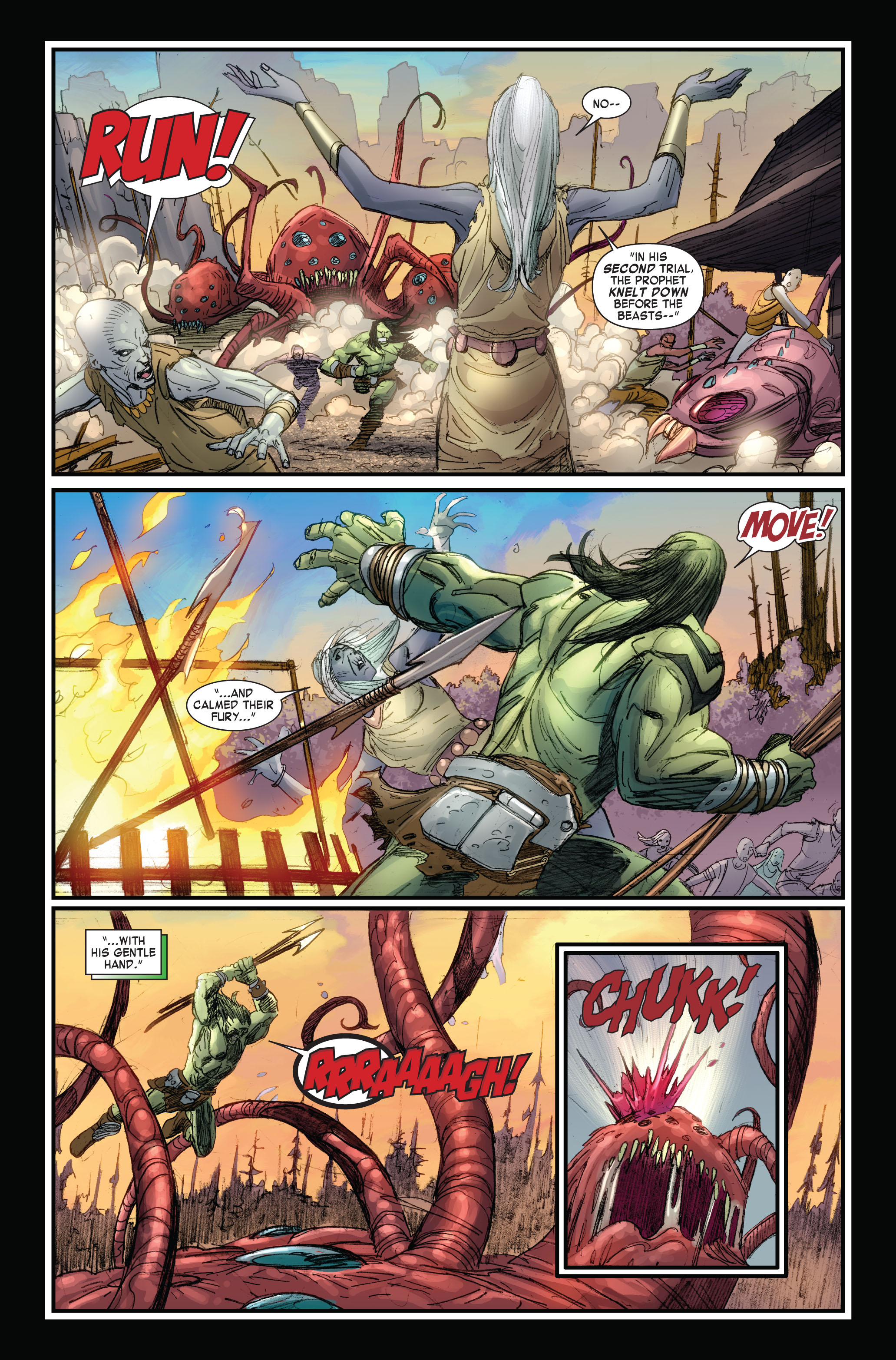Read online Skaar: Son of Hulk comic -  Issue #4 - 7