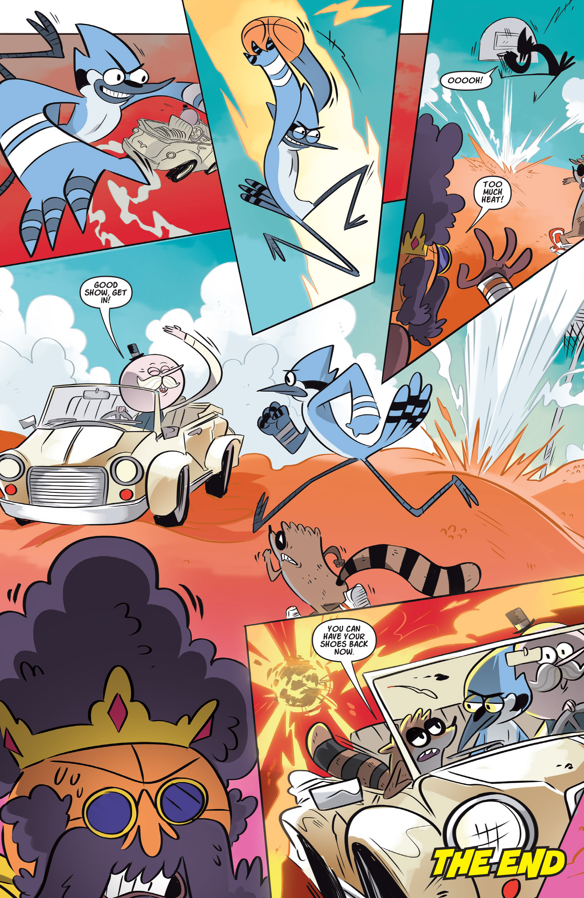 Read online Regular Show comic -  Issue # _Annual 1 - 8