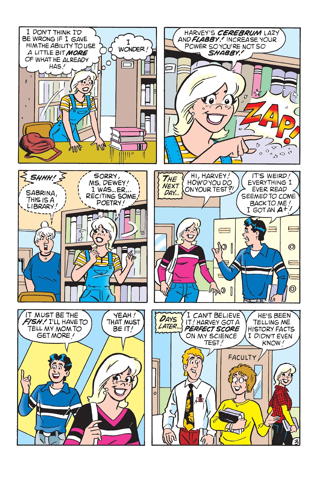 Sabrina the Teenage Witch (1997) Issue #10 #11 - English 4