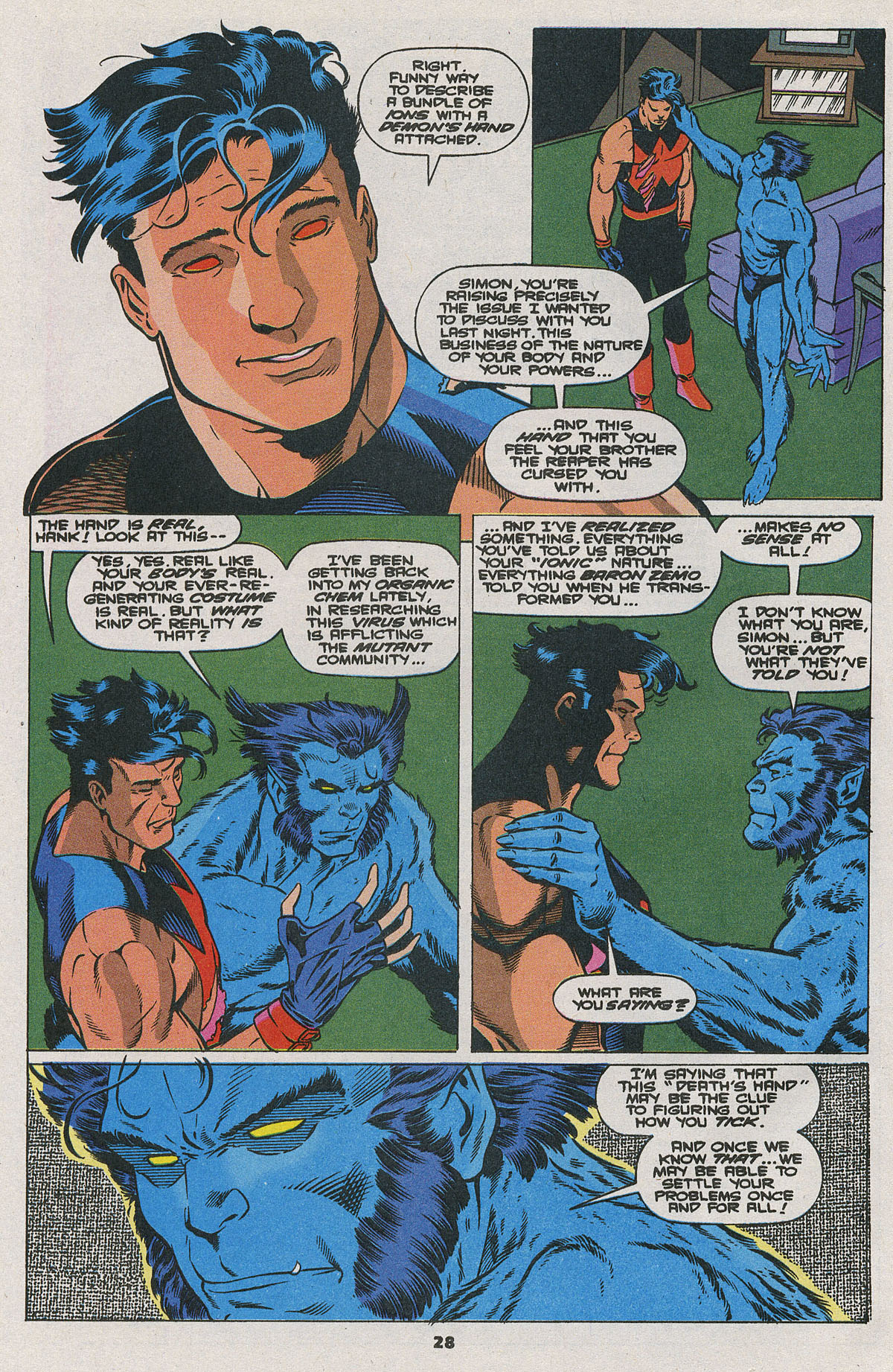 Read online Wonder Man (1991) comic -  Issue #24 - 21