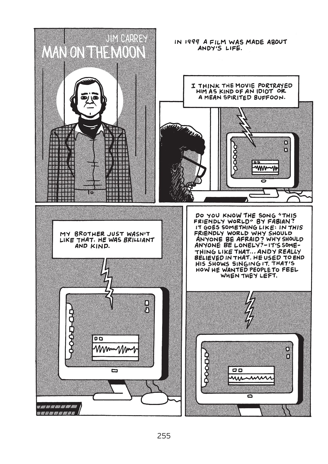 Read online Is This Guy For Real?: The Unbelievable Andy Kaufman comic -  Issue # TPB (Part 3) - 60