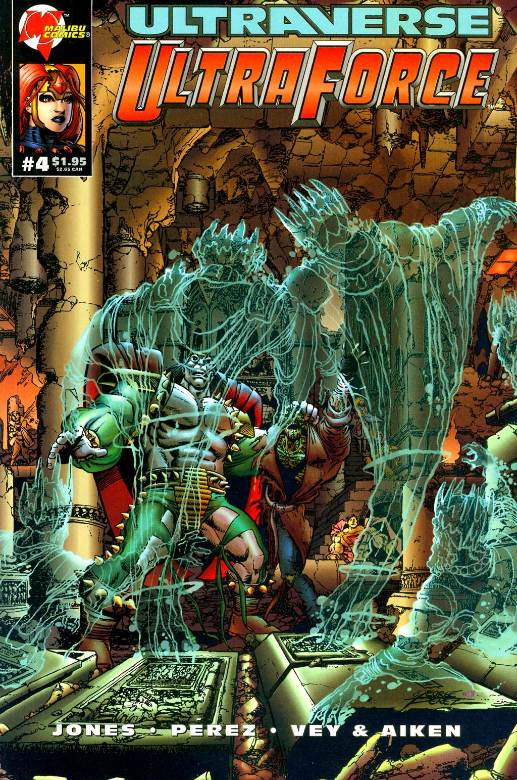 Read online UltraForce (1994) comic -  Issue #4 - 1
