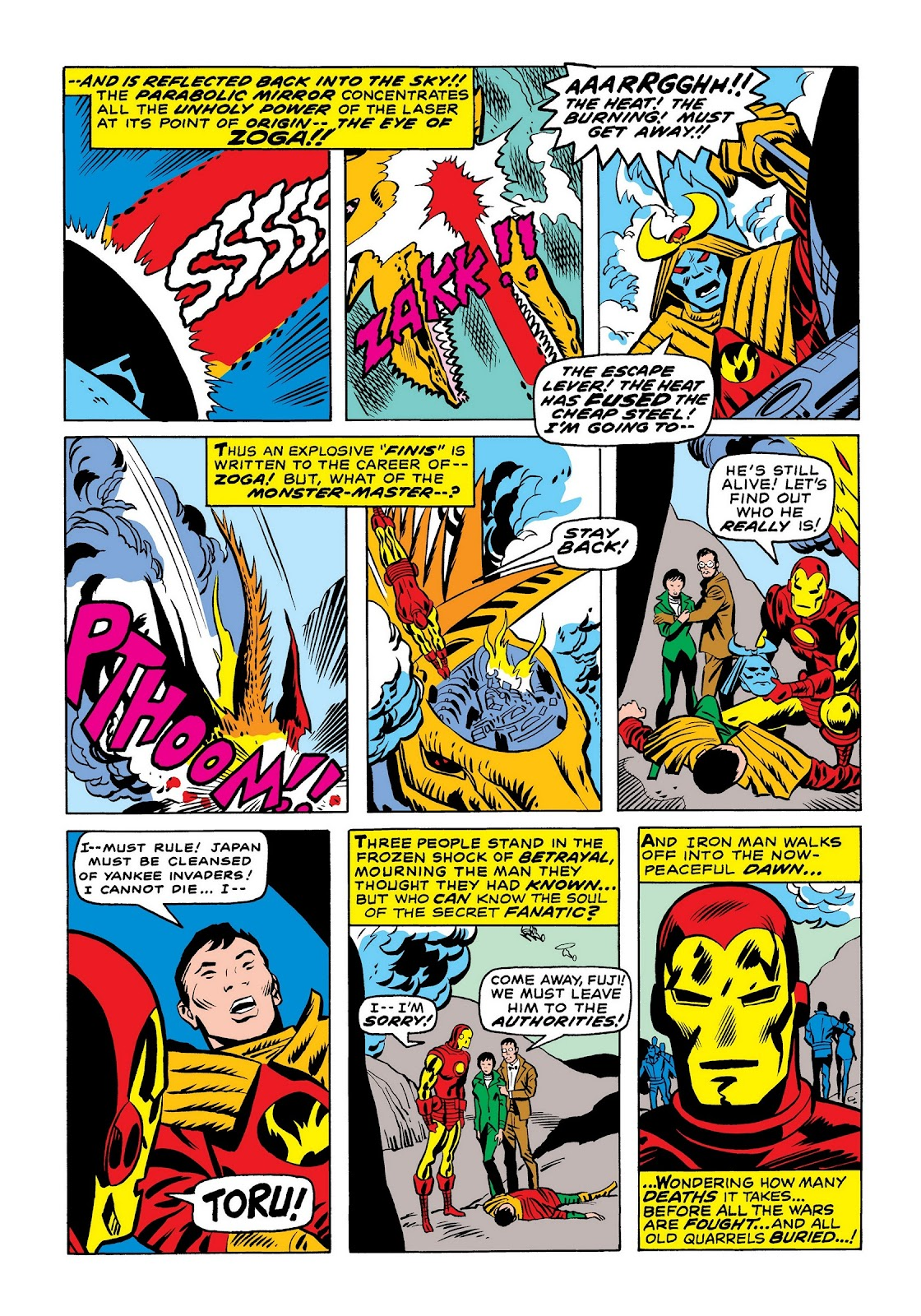 Read online Marvel Masterworks: The Invincible Iron Man comic -  Issue # TPB 7 (Part 2) - 8