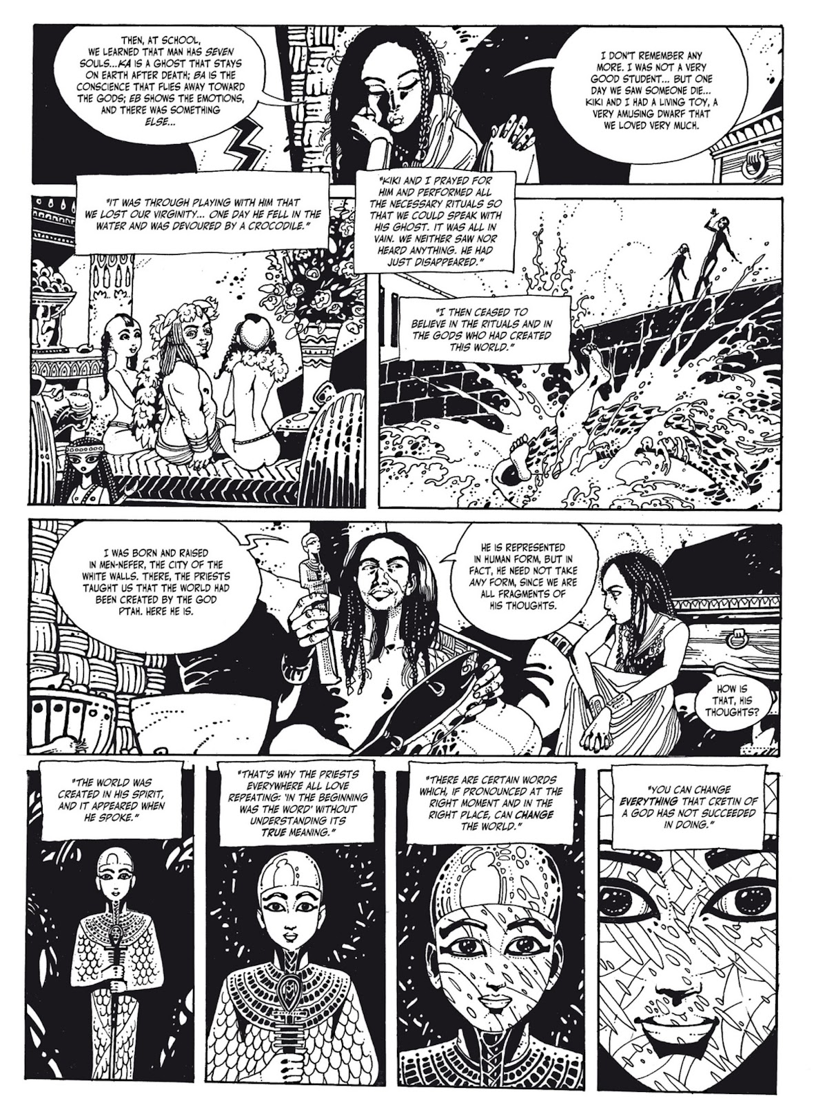 Read online The Egyptian Princesses comic -  Issue # TPB 1 (Part 2) - 5