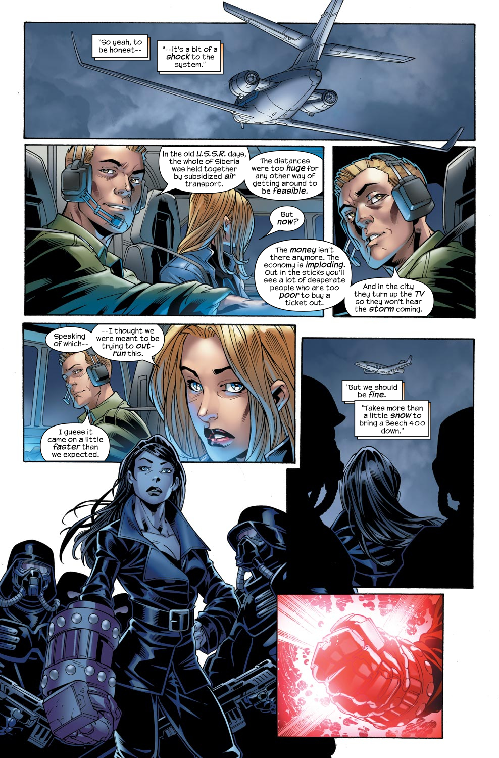 Read online Ultimate Fantastic Four (2004) comic -  Issue #47 - 18