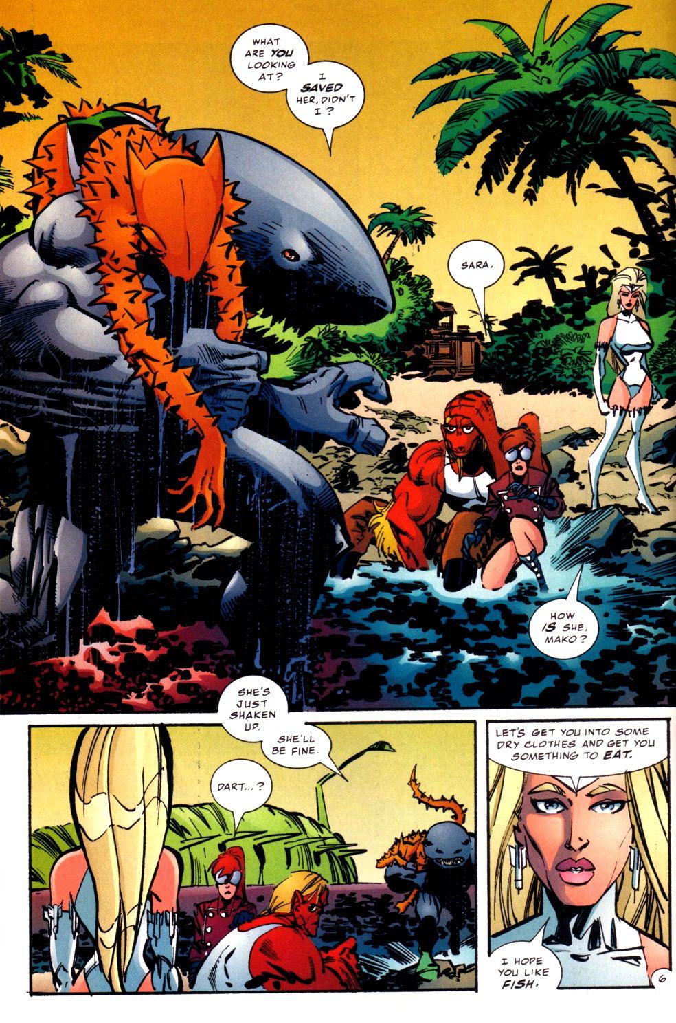 The Savage Dragon (1993) Issue #93 #96 - English 7