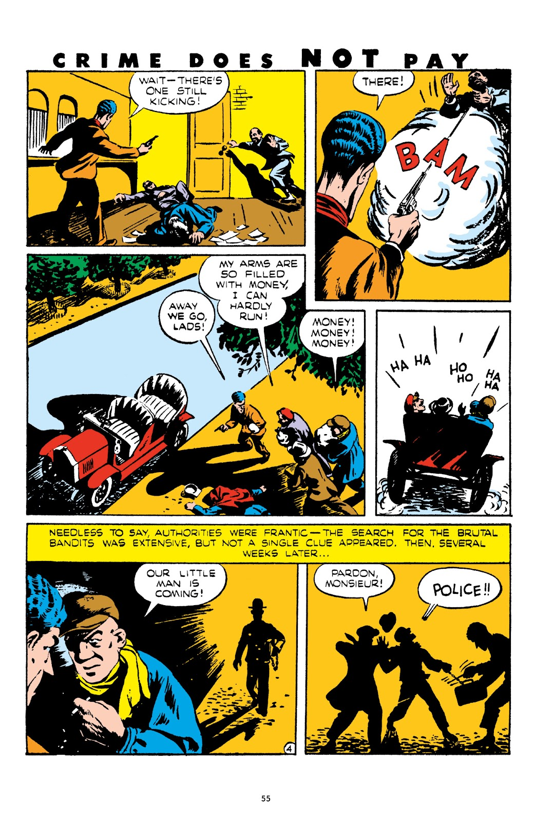 Read online Crime Does Not Pay Archives comic -  Issue # TPB 5 (Part 1) - 55