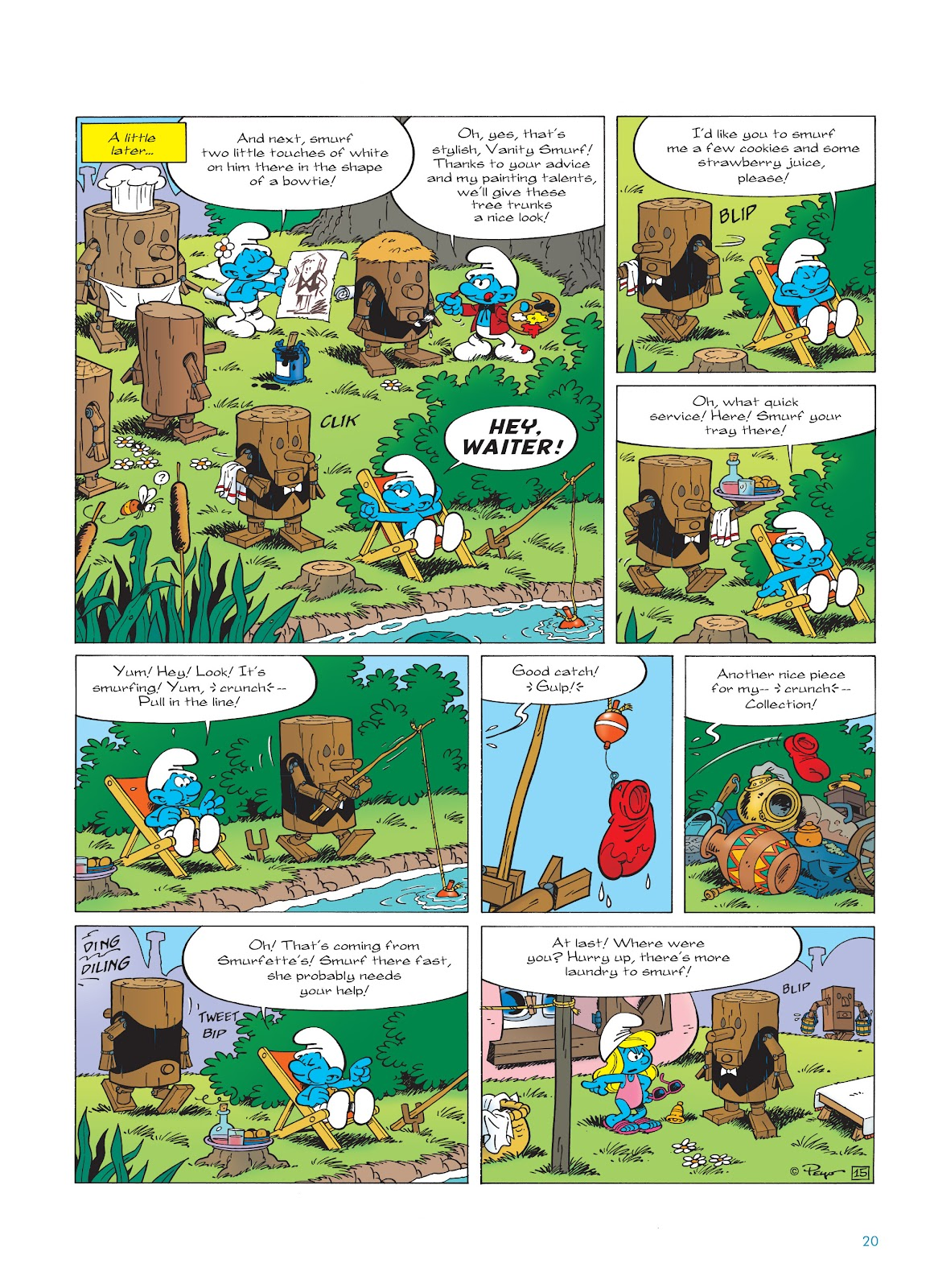 Read online The Smurfs comic -  Issue #23 - 20