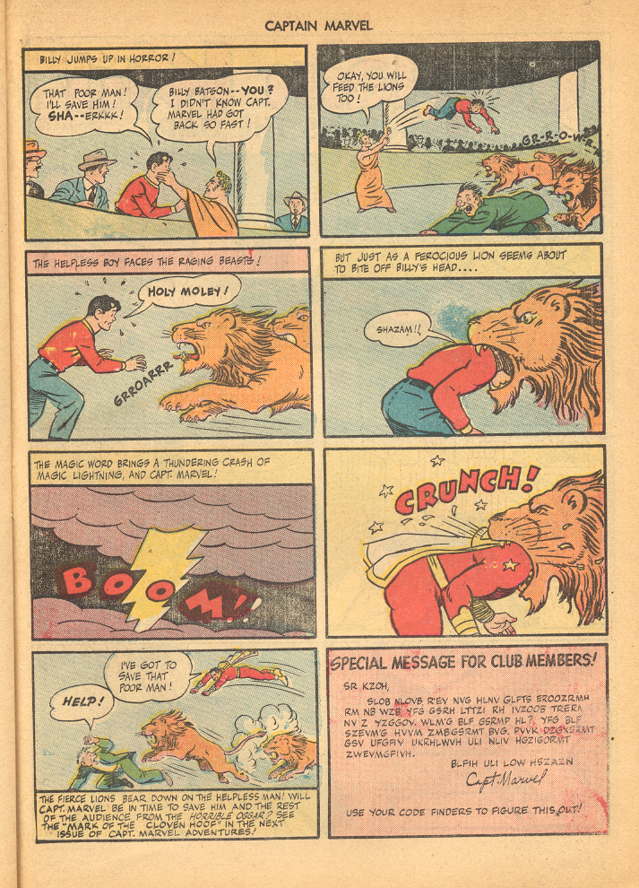 Captain Marvel Adventures issue 62 - Page 35