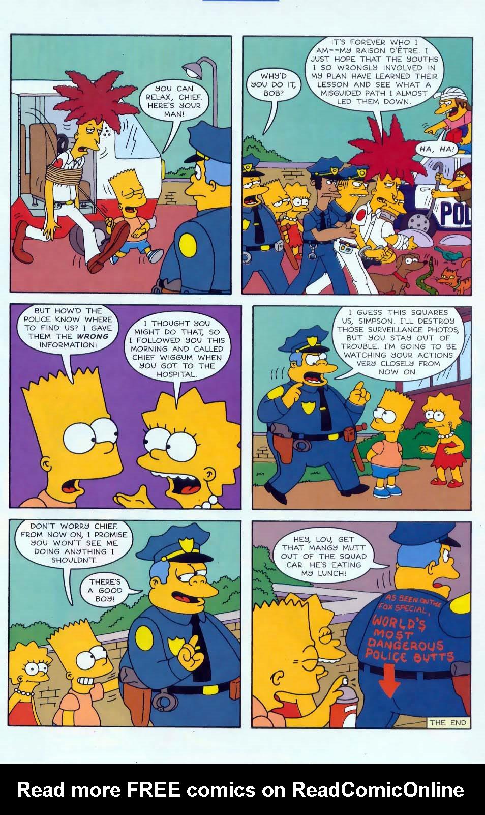 Read online Simpsons Comics comic -  Issue #46 - 22