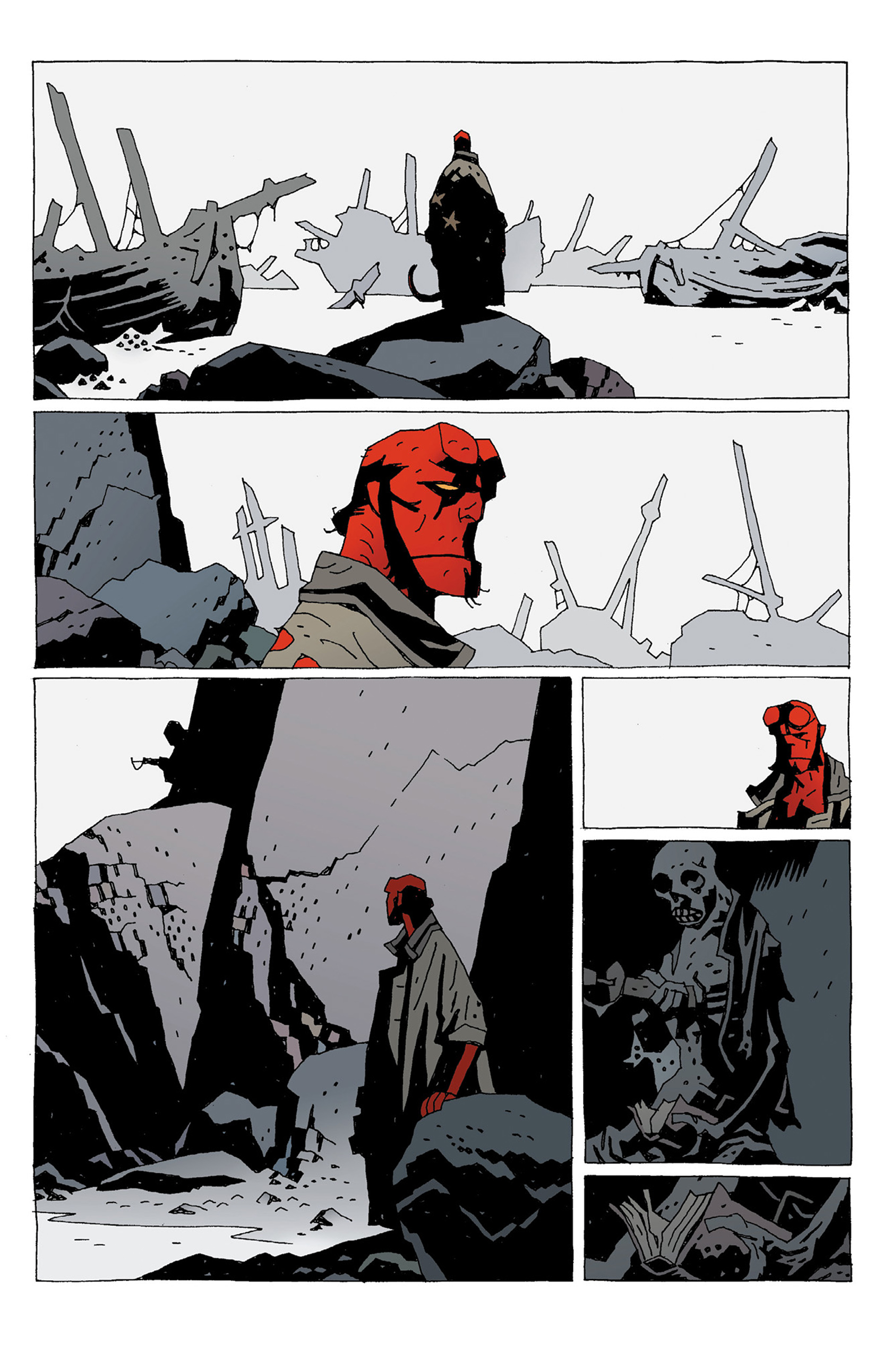 Read online Hellboy: Strange Places comic -  Issue # TPB - 137