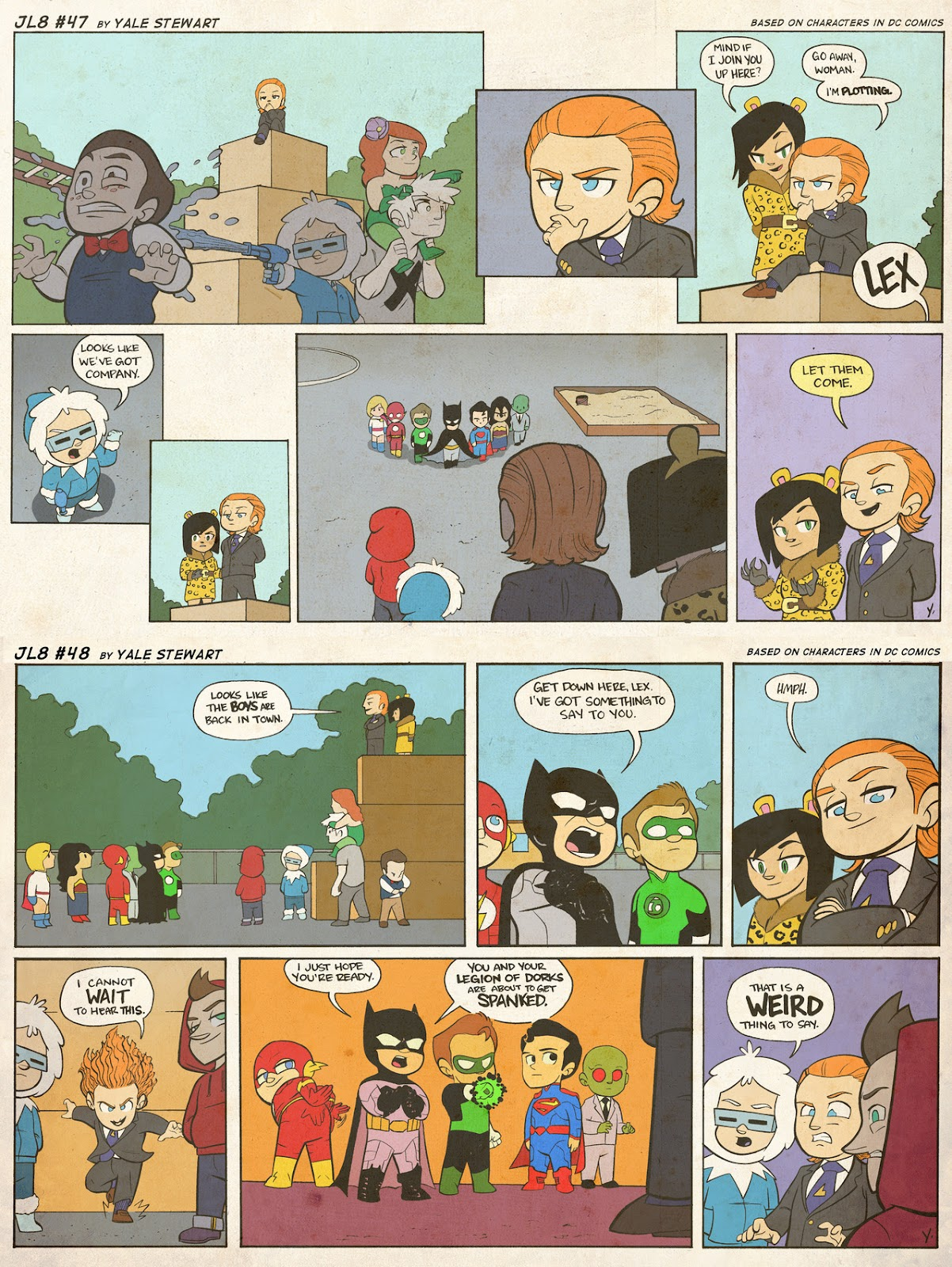 Read online JL8 – The Complete Collection comic -  Issue # TPB (Part 1) - 19