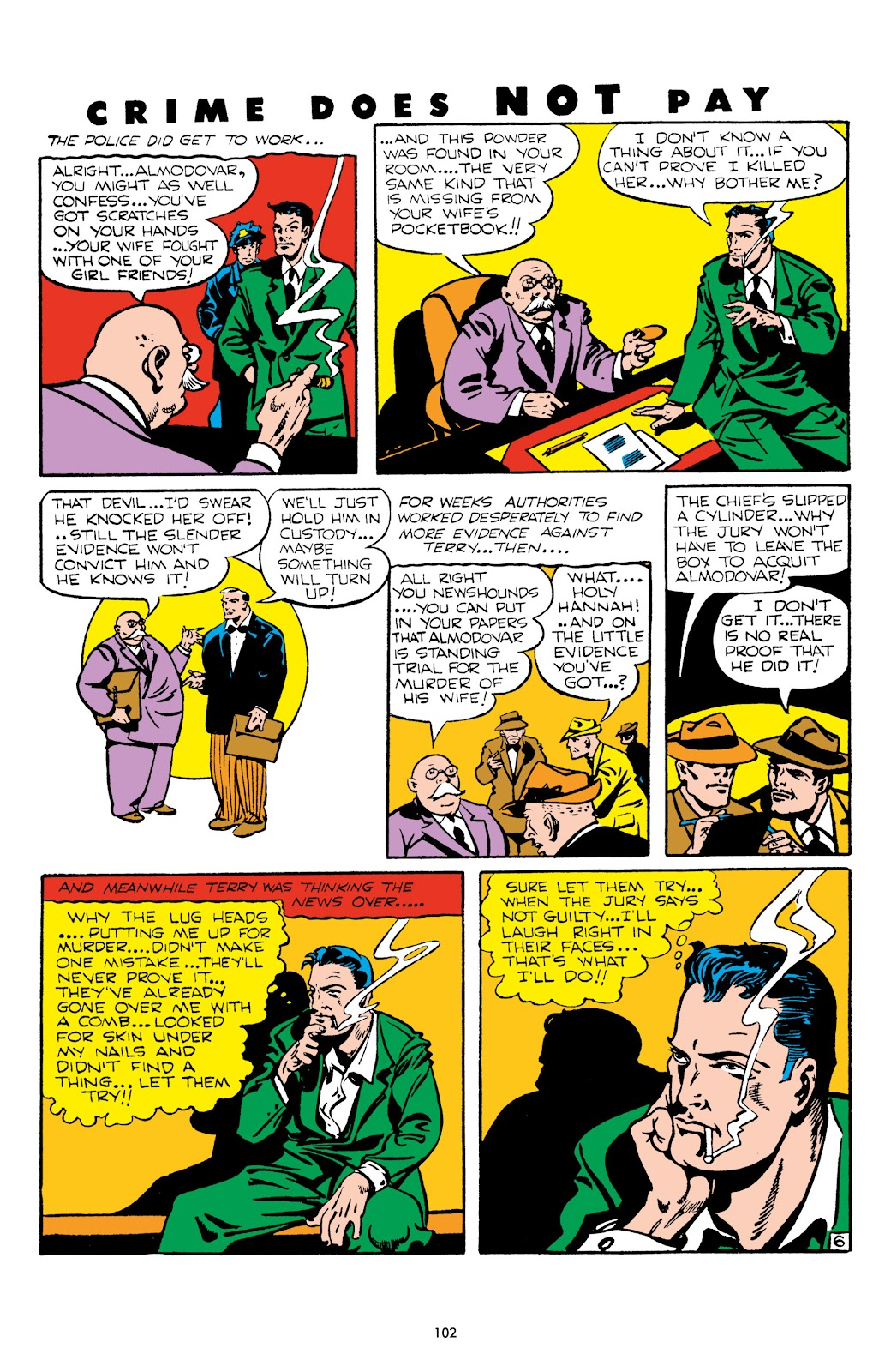 Read online Crime Does Not Pay Archives comic -  Issue # TPB 5 (Part 2) - 2