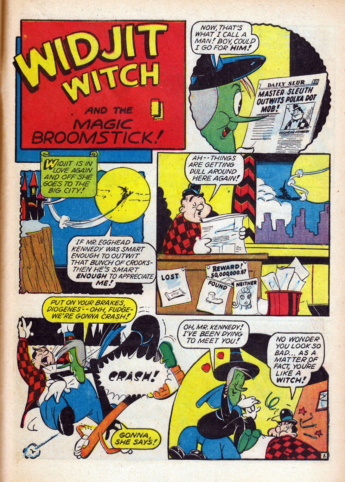 Read online Comedy Comics (1942) comic -  Issue #15 - 53