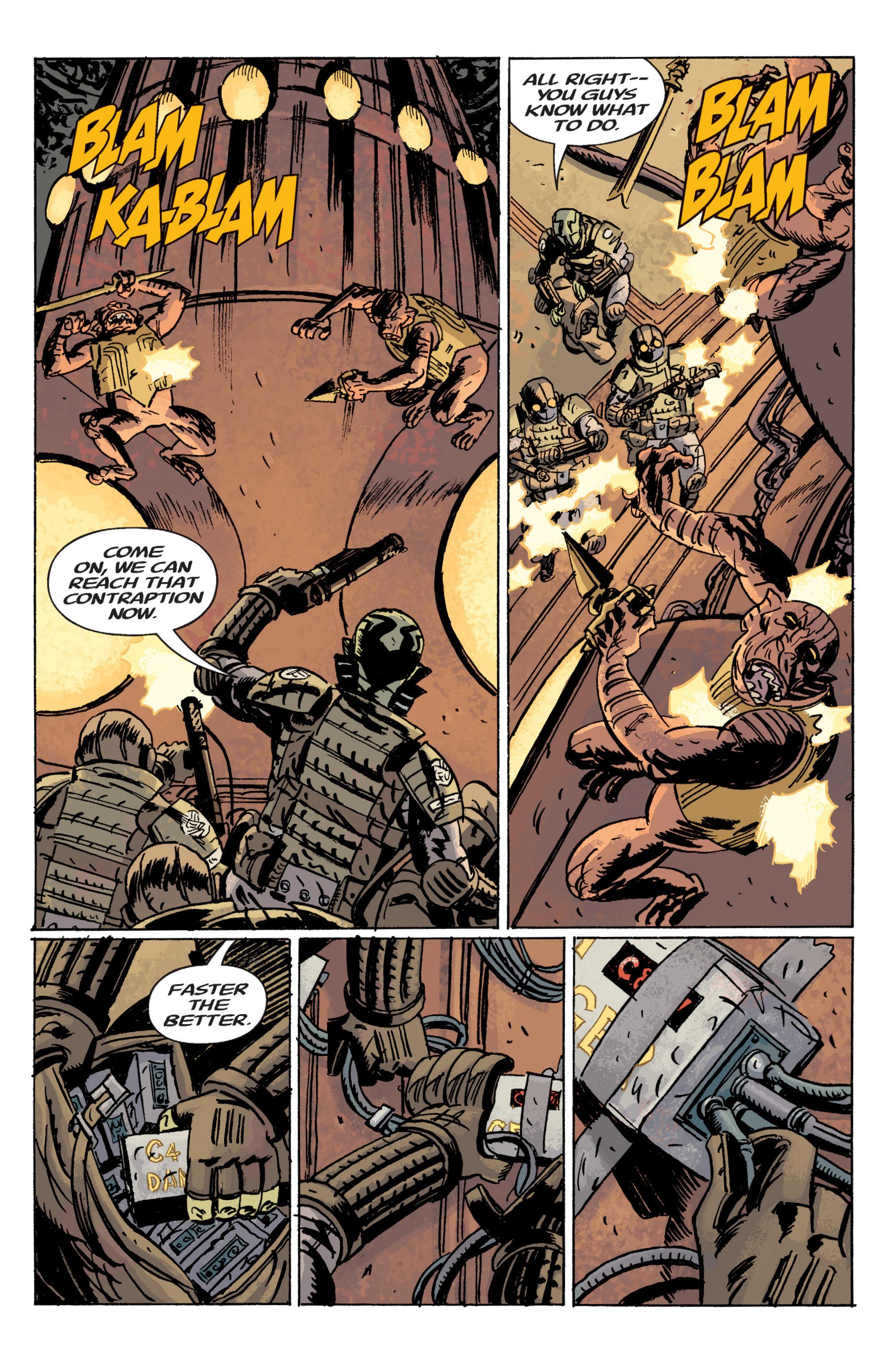 Read online B.P.R.D. (2003) comic -  Issue # TPB 10 - 110