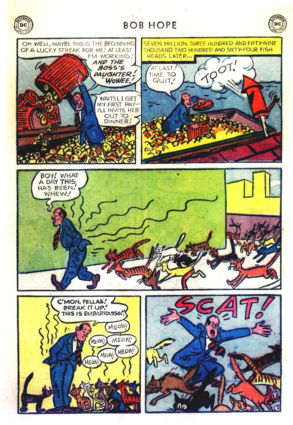 The Adventures of Bob Hope issue 27 - Page 11