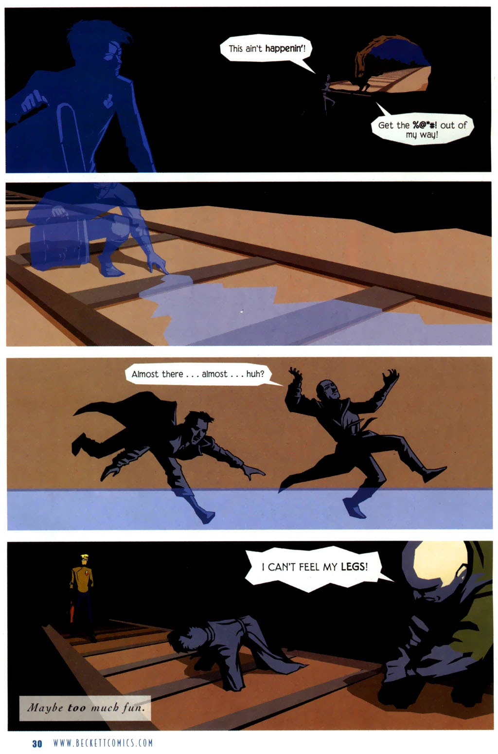 Read online The Ballad of Sleeping Beauty comic -  Issue #6 - 32