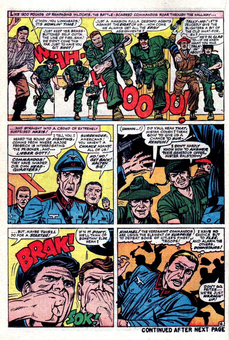 Read online Sgt. Fury comic -  Issue #31 - 22